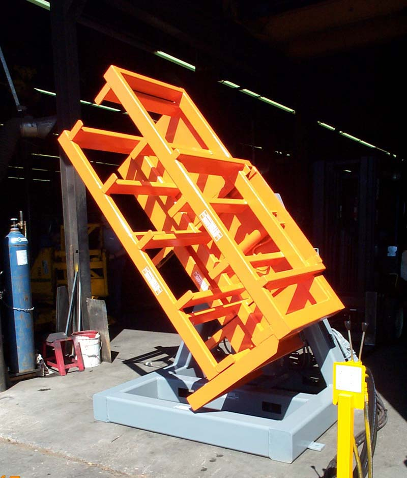 Stationary Load Inverter Pallet Inverter Bulle Pallet: Hydraux Manufacturing Corp. > PRODUCTS > Special